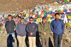 with team at Rohtang Pass