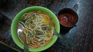 thukpa, a tibetan dish