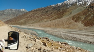 beside river spiti