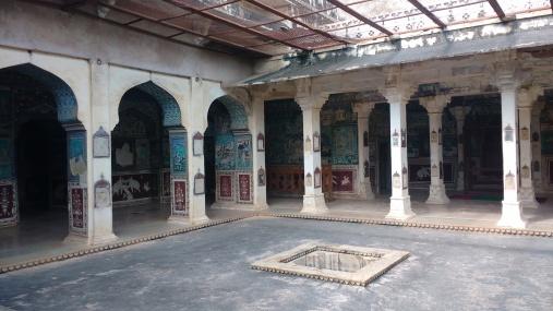 Chitrashala inside the palace