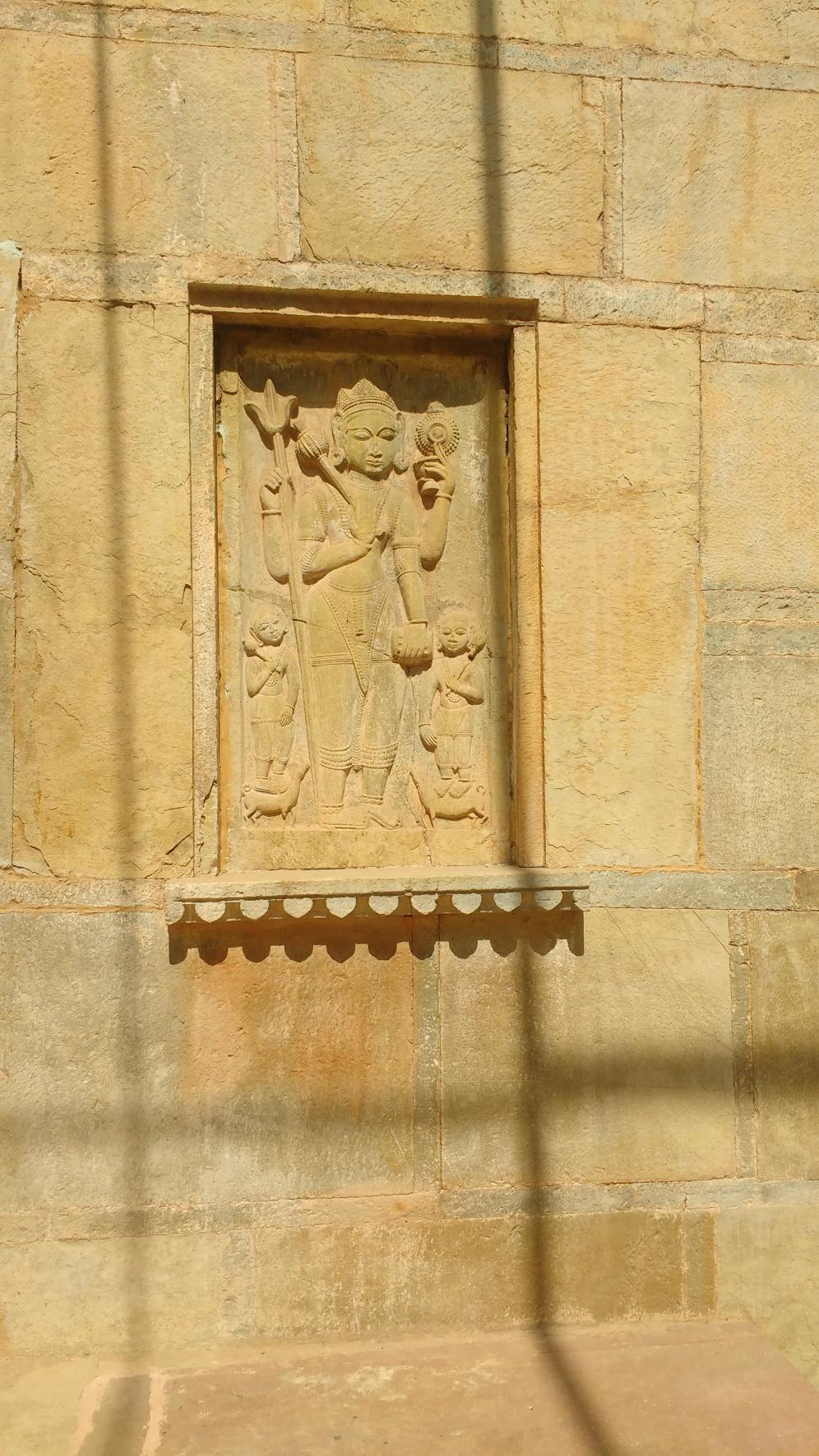Deity at the Baori